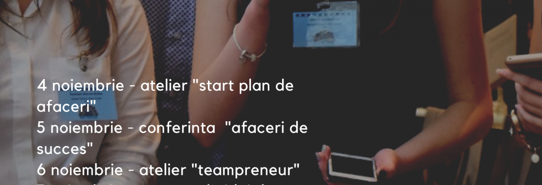 Saptamana Antreprenoriatului, editia 6, 2019